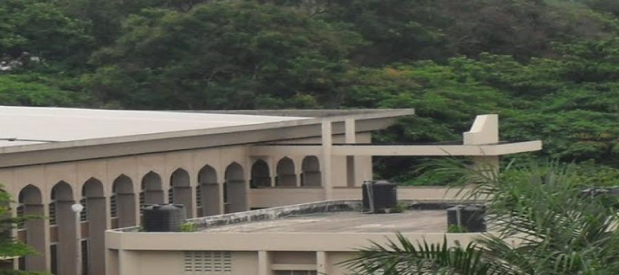 University of Ibadan Central Mosque (Side-view B)