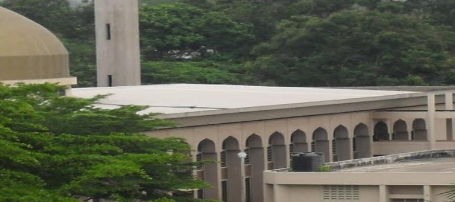 University of Ibadan Central Mosque (Sideview)